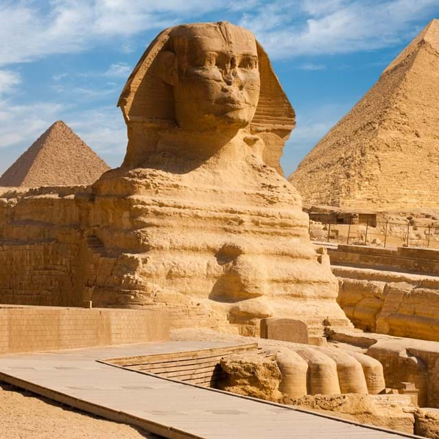 Pyramids & the Great Sphinx