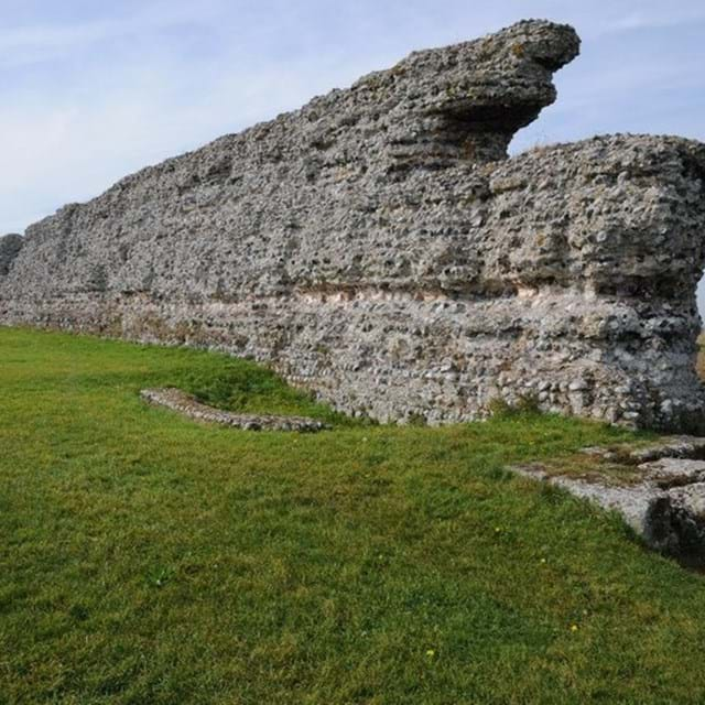 Richborough Saxon Shore Fort - ©Philip Halling