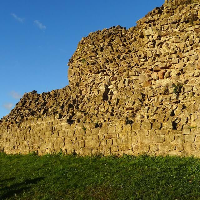 Caerwent's ancient Roman city walls