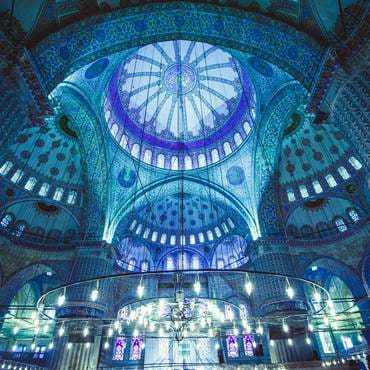 Inside the incredible Blue Mosque