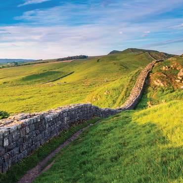Roman wall near Caw Gap, Hadrian's Wall