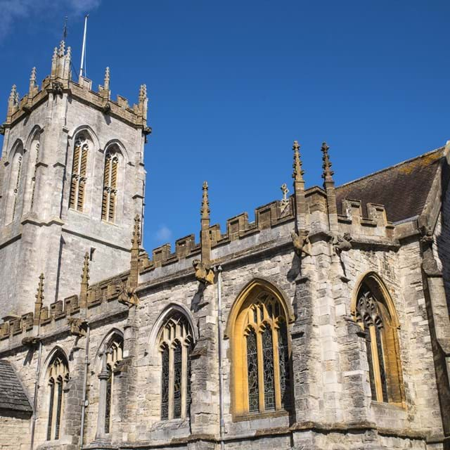 St Peters Church in Dorchester, Dorset