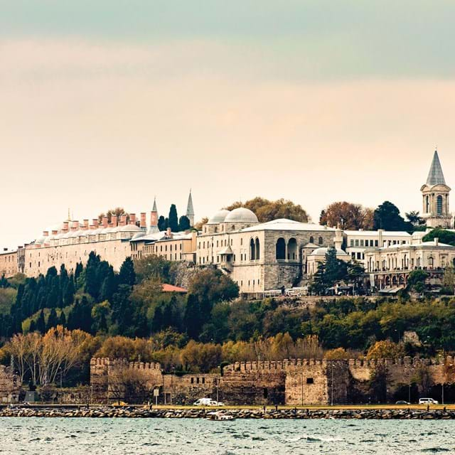 Topkapı Palace, or the Seraglio, in Istanbul
