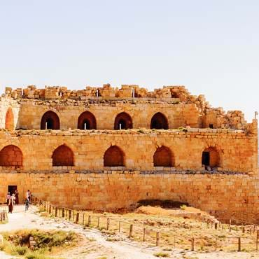 The mighty Kerak Crusader castle