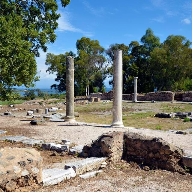Epirus, ancient site of Nikopolis near Preveza