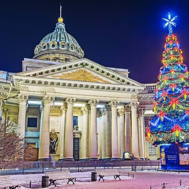 Christmas In St Petersburg, Kazan Cathedral