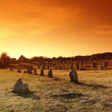 The incredible destination of Carnac with its rows of standing stones