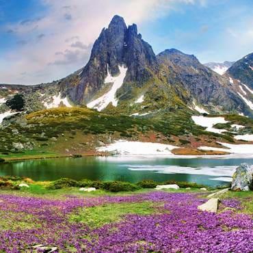 The surprising mountainous landscapes in Bulgaria