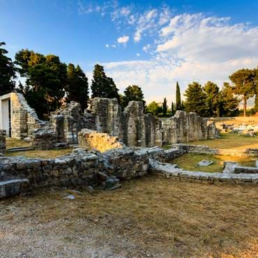 Church Ruins, Salona, Split, Croatia
