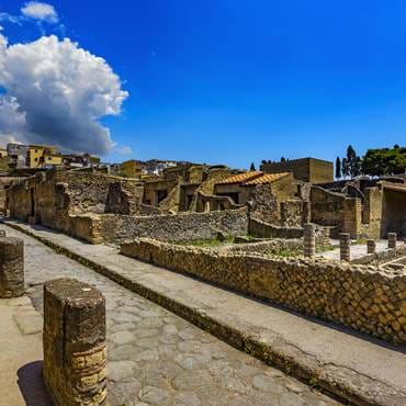 Ruins of Herculaneum (UNESCO World Heritage Site)