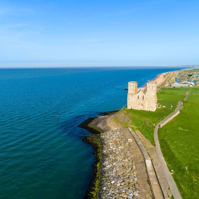 Reculver towers