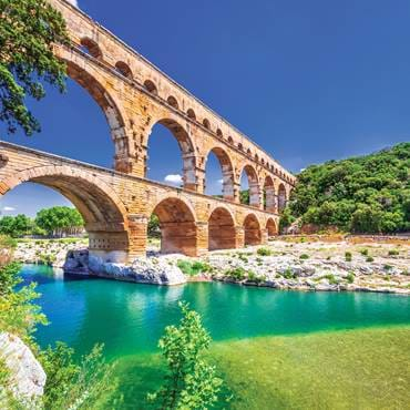 The Pont du Gard, France