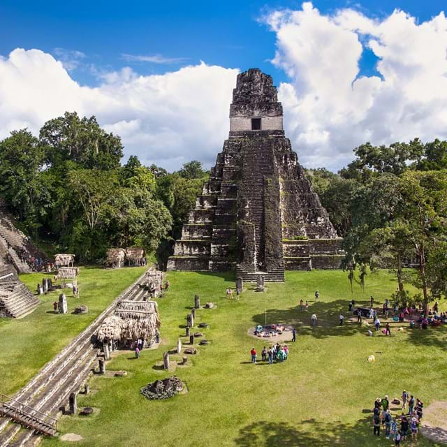 Archaeological site of Tikal