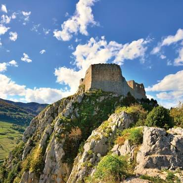 Cathar castle Ariege, France